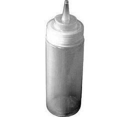 Topping bouteille doseuse 30 cl flexible pour coulis et sauces
