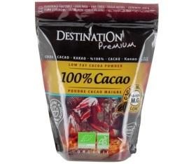 Pur Cacao Maigre 10-12%MG sans sucre Bio et Commerce Equitable - Destination - 250g