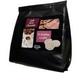 Dosettes caf� aromatis� au chocolat x 16 - Maison Taillefer