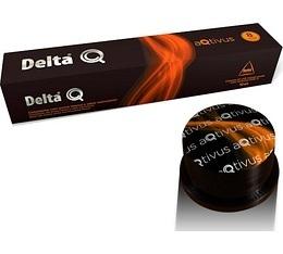Capsules DeltaQ Aqtivus delta cafés x10