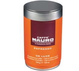 Caf� moulu pour espresso DE LUXE - Arabica/Robusta - 250g - Caffe Mauro