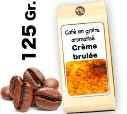 Caf� grain aromatis� Cr�me Brul�e - 125g