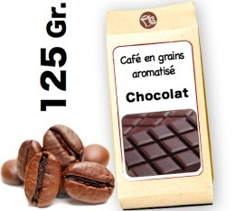 Caf� grain aromatis� Chocolat - 125g