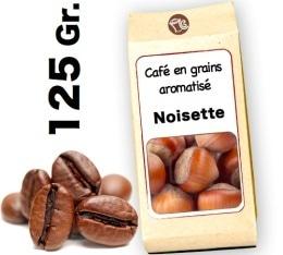 Café grain aromatisé     Noisette  d'Hawaï - 125g