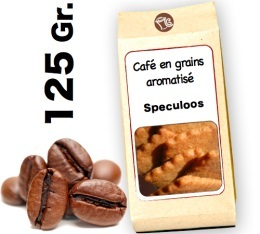 Caf� grain aromatis� Speculoos - 125g