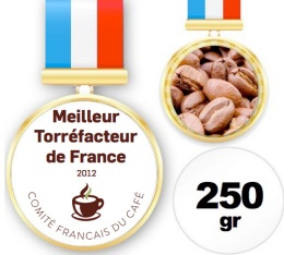Caf� du Champion de France Torr�facteur 2012 - 250 g - Yves Aubert-Moulin