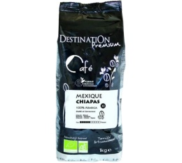 Café en grains Bio Mexique Chiapas 100% Arabica Destination x 1 kg