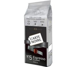 Caf� en Grains Carte Noire n�5 Espresso Classic - 1 Kg