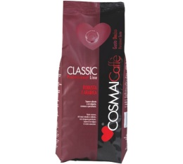 Café en grains Classic rouge Spécial Bar - 1 kg - Cosmai Caffè