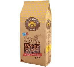 Caf� en grains : Columbus - 1Kg - Columbus Caf� & Co