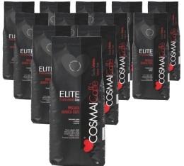MaxiLot Caf� en grains Elite noir Sp�cial Bar - 12 kg - Cosmai Caff�