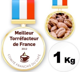 Caf� du Champion de France Torr�facteur 2012 - 1 Kg - Yves Aubert-Moulin