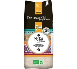 Caf� en grains Bio Moka Grande Origine Ethiopie 100% Arabica Destination x 1 kg