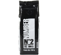 Café en grains Number N°2 Red Coffee - 100% Arabica Bio - 250gr