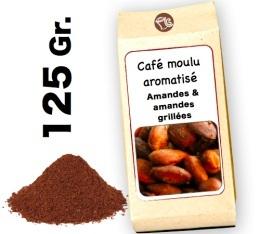 Café moulu aromatisé amandes & amandes grillées- 125g