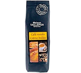 Café moulu aromatisé Crème brûlée - Maison Taillefer - 125g