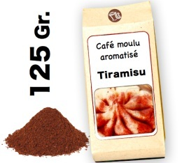 Caf� moulu aromatis� Tiramisu- 125g