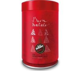 Boîte de Noël Rouge - Café moulu Caffè Vergnano 100% Arabica - 250gr