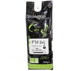 Caf� moulu filtre P'tit Dej Bio n�4 x 250g