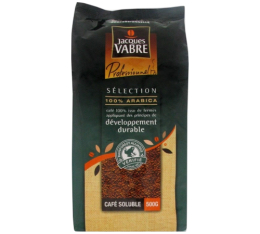 Café soluble Jacques Vabre 100% Arabica - Rainforest Alliance - 500 gr