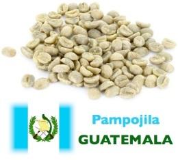 Caf� vert Pampojila - Guatemala - Lav� - 1kg