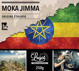 Café moulu pour cafetière filtre : Ethiopie - Moka Jimma - 250g - Cafés Lugat