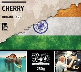 Caf� moulu pour cafeti�re filtre : Inde - Cherry - 250g - Caf�s Lugat