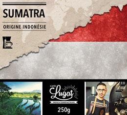 Caf� moulu pour cafeti�re filtre : Indon�sie - Sumatra - 250g - Caf�s Lugat