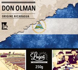 Caf� en moulu pour cafeti�re filtre : Nicaragua - Don Olman - 250g - Caf�s Lugat