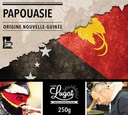 Café moulu pour cafetière filtre : Nouvelle-Guinée - Papouasie - 250g - Cafés Lugat