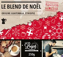 Café moulu pour cafetière italienne : Le Blend de Noël (Mélange Gourmand) - 250g - Cafés Lugat