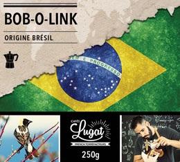 Caf� moulu pour cafeti�re italienne : Br�sil - Bob-o-link - 250g - Caf�s Lugat