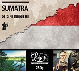 Caf� moulu pour cafeti�re italienne : Indon�sie - Sumatra - 250g - Caf�s Lugat