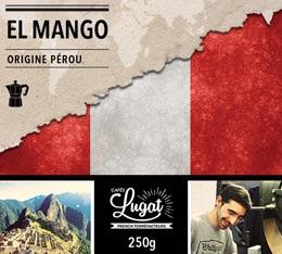 Caf� moulu Bio pour cafeti�re italienne : P�rou - El Mango - 250g - Caf�s Lugat