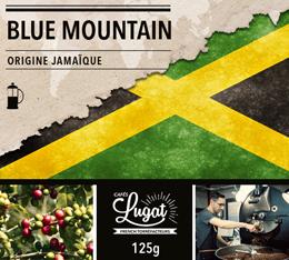 Café moulu pour cafetière à piston : Jamaïque - Blue Mountain - Torréfaction Filtre - 125g - Cafés Lugat