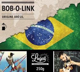 Caf� moulu pour cafeti�re � piston - Br�sil Bob O Link (Pulped Natural) - 250 gr - Lionel Lugat