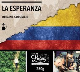 Caf� moulu bio pour cafeti�re � piston : Colombie - La Esperanza - 250g - Caf�s Lugat