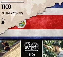 Caf� moulu pour cafeti�re � piston : Costa Rica - Tico - 250g - Caf�s Lugat
