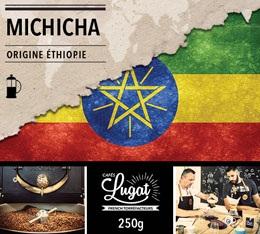 Caf� moulu pour cafeti�re � piston : Ethiopie - Moka Michicha - 250g - Caf�s Lugat
