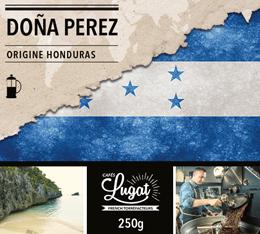 Café moulu Bio pour cafetière à piston : Honduras - Doña Perez - 250g - Cafés Lugat