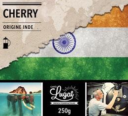 Caf� moulu pour cafeti�re � piston : Inde - Cherry - 250g - Caf�s Lugat