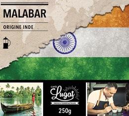 Caf� moulu pour cafeti�re � piston : Inde - Malabar - 250 g - Caf�s Lugat