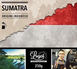 Caf� moulu pour cafeti�re � piston : Indon�sie - Sumatra - 250g - Caf�s Lugat