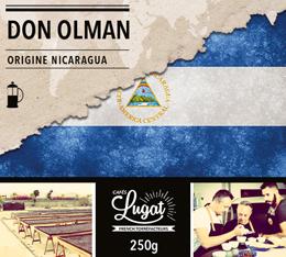 Caf� en moulu pour cafeti�re piston : Nicaragua - Don Olman - 250g - Caf�s Lugat
