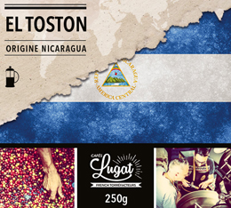 Caf� moulu pour cafeti�re piston : Nicaragua - El Toston - 250g - Caf�s Lugat