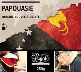Caf� moulu pour cafeti�re � piston : Nouvelle-Guin�e - Papouasie - 250g - Caf�s Lugat