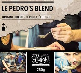 Café moulu pour cafetière à piston : Le Pedro's Blend (Mélange Gourmand) - 250g - Cafés Lugat