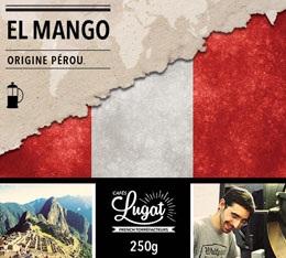 Café moulu Bio pour cafetière à piston : Pérou - El Mango - 250g - Cafés Lugat