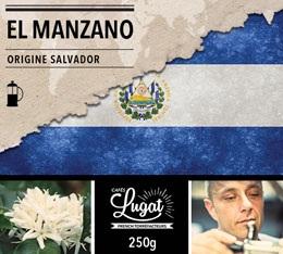 Caf� moulu pour cafeti�re � piston : Salvador - El Manzano - 250g - Caf�s Lugat