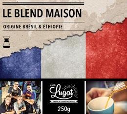 Caf� moulu pour cafeti�re Hario/Chemex : Le Blend Maison (M�lange Maison) - 250g - Caf�s Lugat